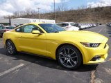 2016 Triple Yellow Tricoat Ford Mustang EcoBoost Coupe #111523207