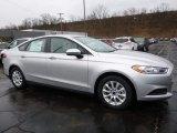 2016 Ingot Silver Metallic Ford Fusion S #111523206