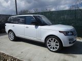 Yulong White Metallic Land Rover Range Rover in 2016