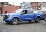 2016 Blue Flame Ford F150 XLT SuperCrew 4x4 #111523262