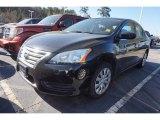 2014 Super Black Nissan Sentra S #111544120