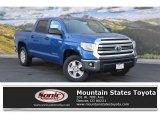 2016 Blazing Blue Pearl Toyota Tundra SR5 CrewMax 4x4 #111543998