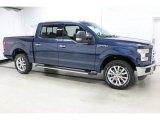 2016 Blue Jeans Ford F150 XLT SuperCrew 4x4 #111543890