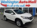 2014 White Diamond Pearl Honda CR-V EX AWD #111567439