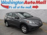 2012 Polished Metal Metallic Honda CR-V LX 4WD #111567431