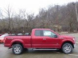 2016 Ruby Red Ford F150 XLT SuperCab 4x4 #111567430