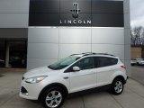 2013 White Platinum Metallic Tri-Coat Ford Escape SE 2.0L EcoBoost 4WD #111567485