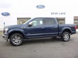 2016 Blue Jeans Ford F150 Lariat SuperCrew 4x4 #111567704