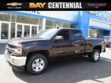 2016 Autumn Bronze Metallic Chevrolet Silverado 1500 LT Double Cab #111597576