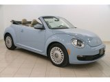 2013 Denim Blue Volkswagen Beetle 2.5L Convertible #111597853