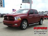2012 Deep Cherry Red Crystal Pearl Dodge Ram 1500 Express Crew Cab #111597698
