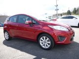 2013 Ruby Red Ford Fiesta SE Hatchback #111597599