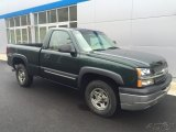 2003 Dark Green Metallic Chevrolet Silverado 1500 LS Regular Cab 4x4 #111597512