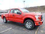 2016 Race Red Ford F150 XL SuperCab 4x4 #111597595