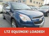 2010 Navy Blue Metallic Chevrolet Equinox LTZ AWD #111597455