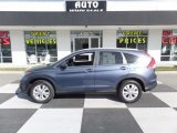 2013 Twilight Blue Metallic Honda CR-V EX-L #111597794