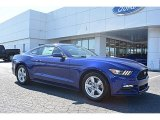 2016 Deep Impact Blue Metallic Ford Mustang V6 Coupe #111631763