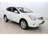 2013 Pearl White Nissan Rogue SV AWD #111631915
