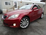 2008 Matador Red Mica Lexus IS 250 AWD #111631869