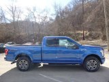 2016 Blue Flame Ford F150 XLT SuperCab 4x4 #111631741