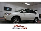 Crystal White Lexus RX in 2008