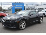 2014 Black Chevrolet Camaro SS Coupe #111631729