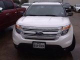 2013 Oxford White Ford Explorer XLT #111631843
