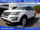 2016 Oxford White Ford Explorer XLT 4WD #111631550