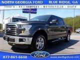 2016 Magnetic Ford F150 XLT SuperCrew 4x4 #111631549