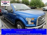 2016 Blue Flame Ford F150 XLT SuperCrew #111661144