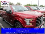 2016 Ruby Red Ford F150 XLT SuperCrew #111661164