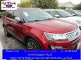 2016 Ruby Red Metallic Tri-Coat Ford Explorer Platinum 4WD #111661162