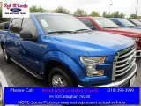 2016 Blue Flame Ford F150 XLT SuperCrew #111661161