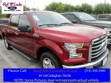 2016 Ruby Red Ford F150 XLT SuperCrew #111661154