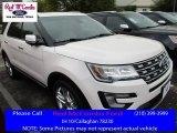 2016 White Platinum Metallic Tri-Coat Ford Explorer Limited #111661150