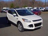 2013 White Platinum Metallic Tri-Coat Ford Escape SEL 2.0L EcoBoost 4WD #111661410
