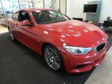 2015 BMW 4 Series Melbourne Red Metallic