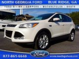 2016 White Platinum Metallic Ford Escape Titanium #111661061