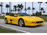 1995 Giallo Modena (Yellow) Ferrari F355 Spider #111687437
