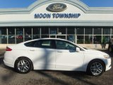 2013 White Platinum Metallic Tri-coat Ford Fusion SE #111687236
