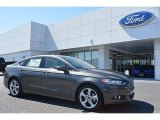2016 Magnetic Metallic Ford Fusion S #111687207