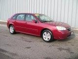 2007 Sport Red Metallic Chevrolet Malibu Maxx LT Wagon #1085771