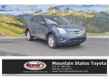 2013 Graphite Blue Nissan Rogue S AWD #111708134