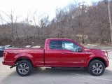 2016 Ruby Red Ford F150 XLT SuperCab 4x4 #111708247