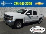 2016 Summit White Chevrolet Silverado 1500 LT Crew Cab 4x4 #111708433