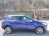 2016 Deep Impact Blue Metallic Ford Escape SE 4WD #111708243