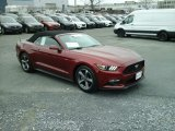 Ruby Red Metallic Ford Mustang in 2015