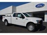 2016 Oxford White Ford F150 XL SuperCab 4x4 #111738235