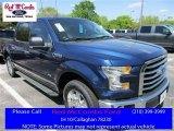 2016 Blue Jeans Ford F150 XLT SuperCrew #111738157