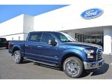 2016 Blue Jeans Ford F150 XLT SuperCrew 4x4 #111738232